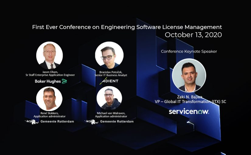 Engineering Software License Management Conference